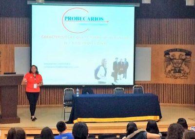 Conferencia en la Facultad de Química UNAM