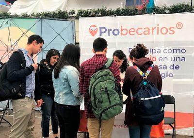 Feria de empleo en la Universidad Iberoamericana, CDMX