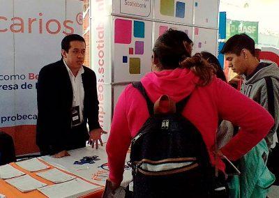 Feria deempleo en la Universidad Iberoamericana, CDMX.