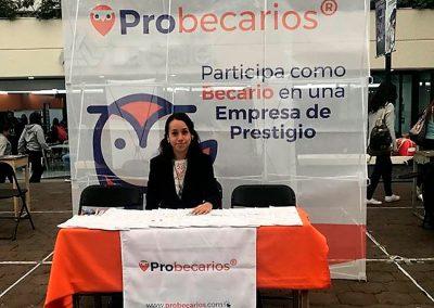 Feria de empleo en la Universidad Iberoamericana, CDMX.