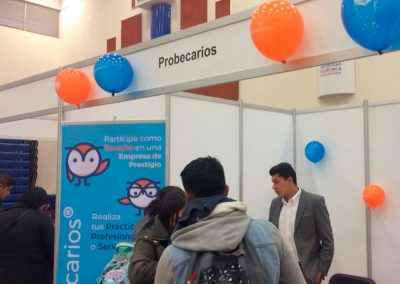Feria de empleo en la Universidad Politécnica de San Luis Potosí